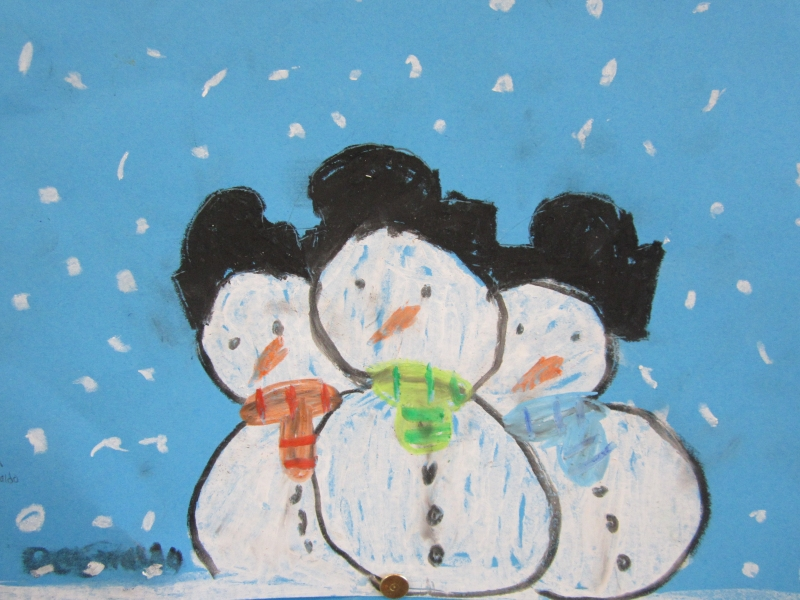 sneeuwpoppen  u2013 vandre