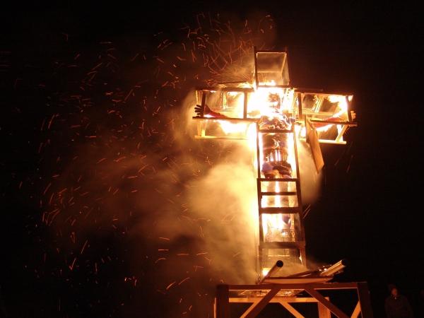 Kunst brandt