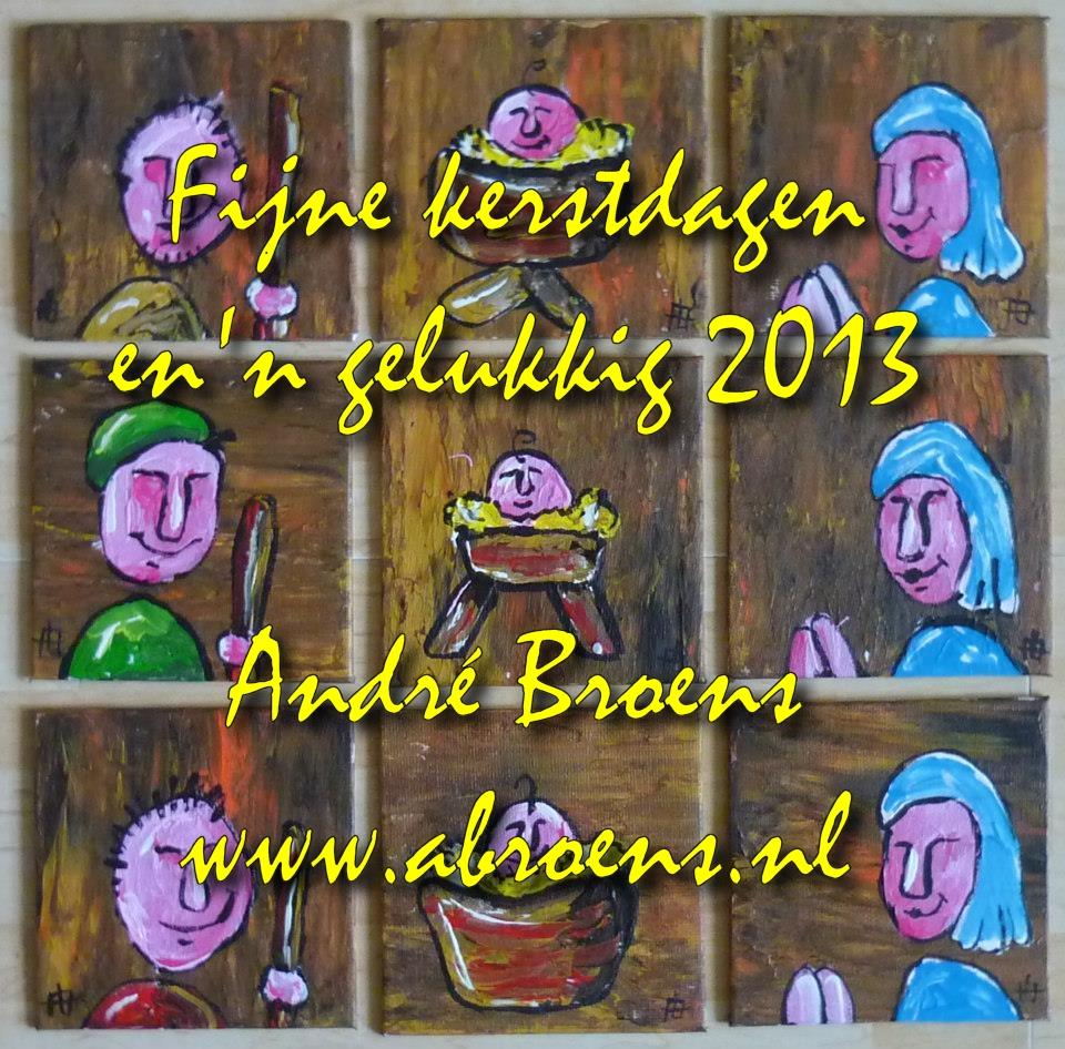 Fijne feestdagen en een gelukkig 2013