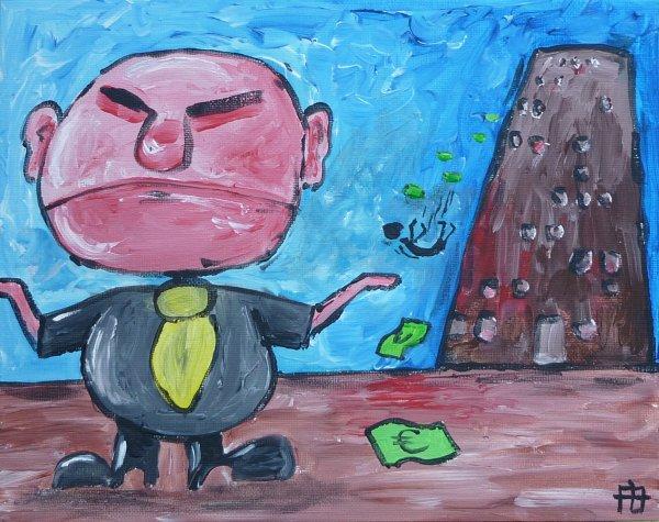Bankier zegt sorry