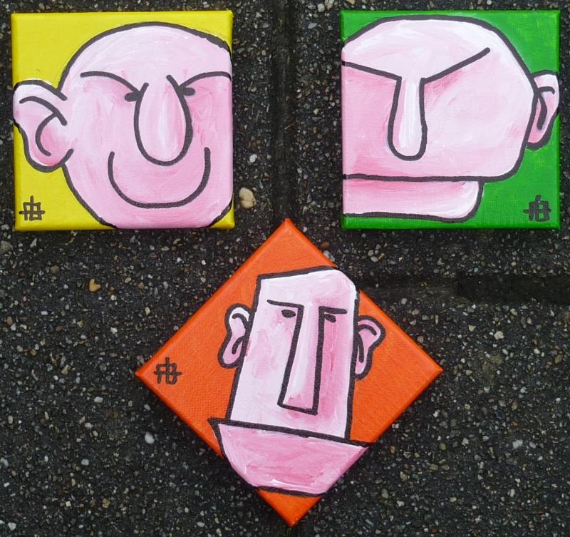 Blockhead-tegels