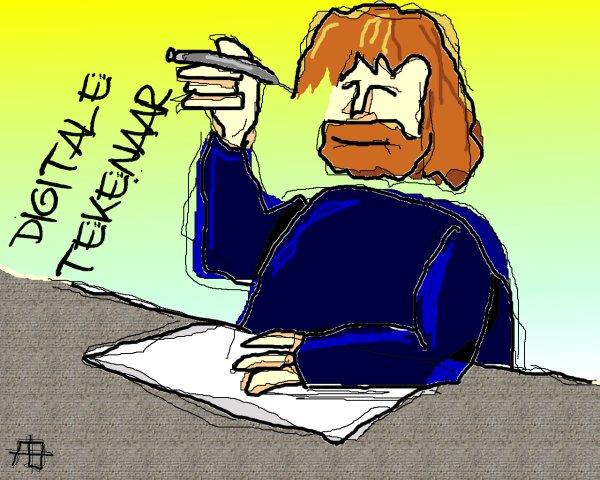 Digitale tekenaar