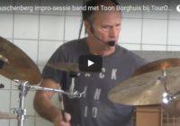 De Rauschenberg impro-sessie band met Toon Borghuis bij TourOfArtFlevoland – Vlog vAnDré #41