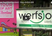 Inrichten TourOfArtFlevoland – Vlog vAnDré #38