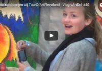 Levende schilderijen bij TourOfArtFlevoland – Vlog vAnDré #40