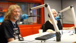 vAnDre op Visite bij Radio Lelystad