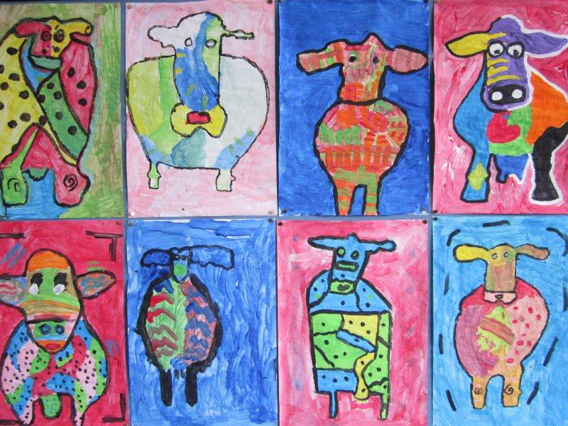 Kunst-koe volgens Peter Diem