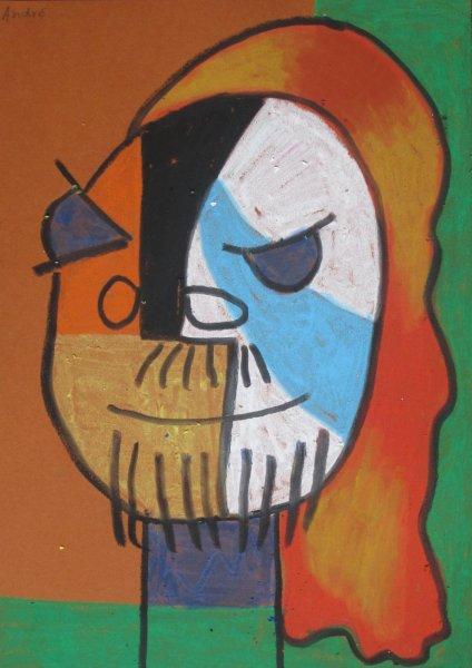 In de stijl van Picasso
