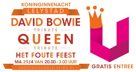 Bowie & Queen op 'Het Foute Feest'