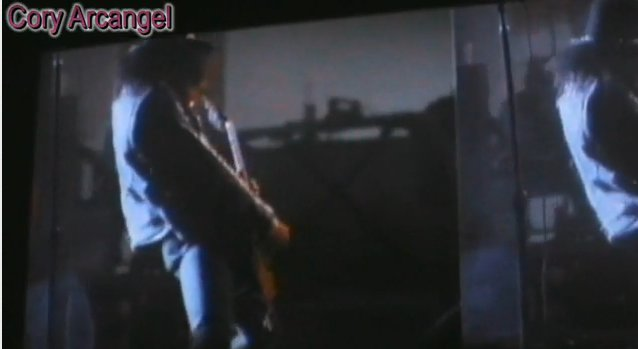 "Guns 'n' Roses & Cory Arcangel: ""Sweet Sixteen"""