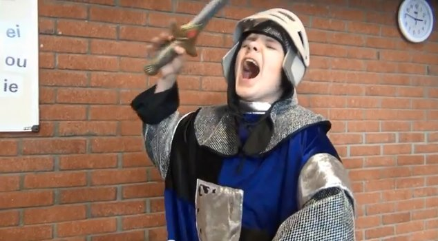 Vijf ridders (video-gedicht)