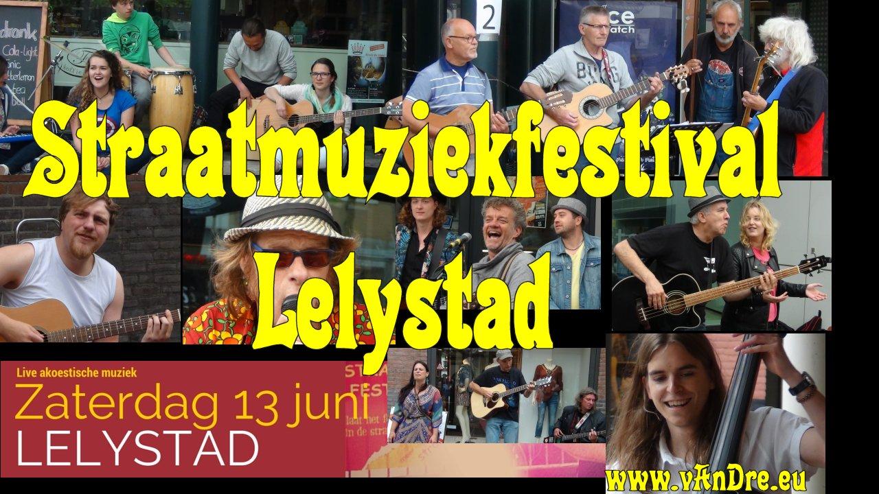 Straatmuziekfestival Lelystad