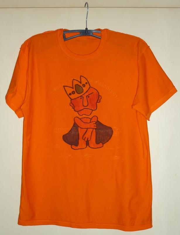Blockhead op T-shirt